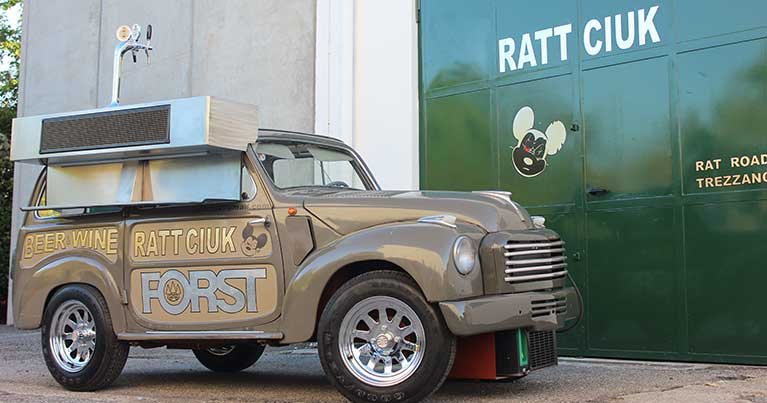 Rattciuk food truck made in Italy