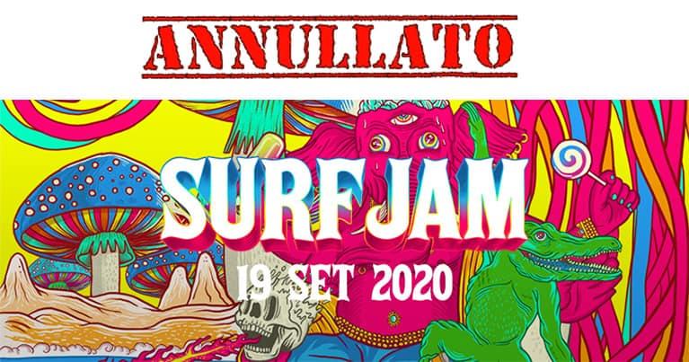 Surf Jam annullato