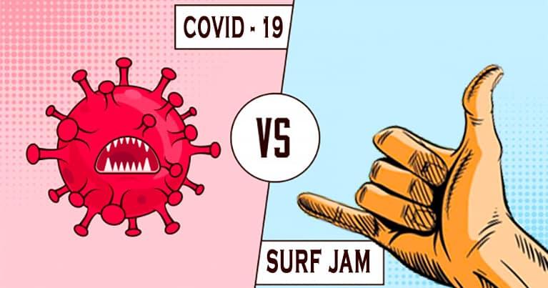 norme covid evento surf jam 2020