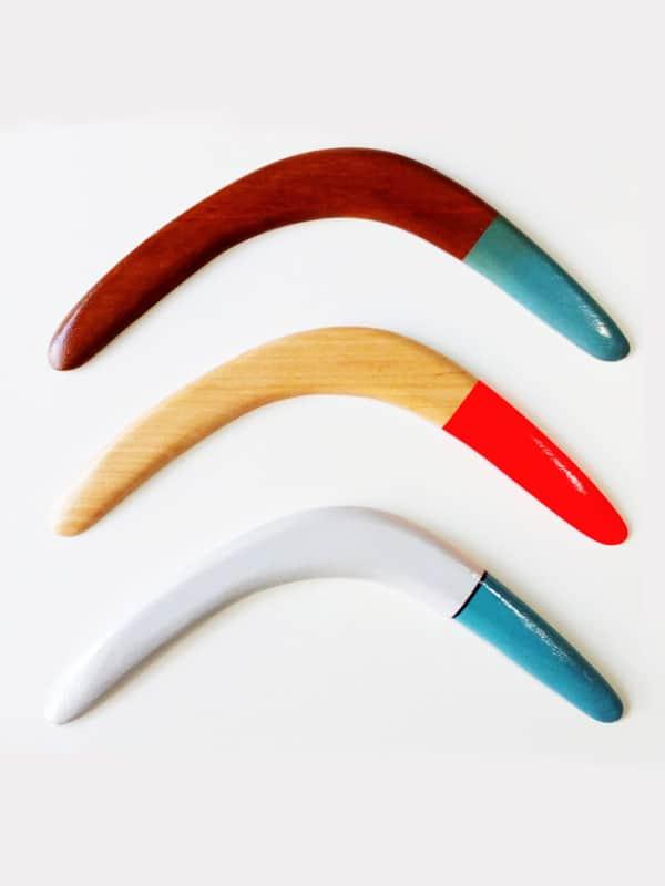 Boomerang custom handmade colori a scelta