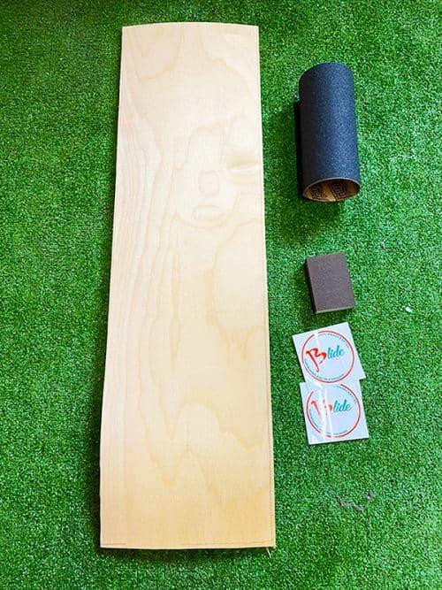 kit per costruire tavola da longboard skate a casa