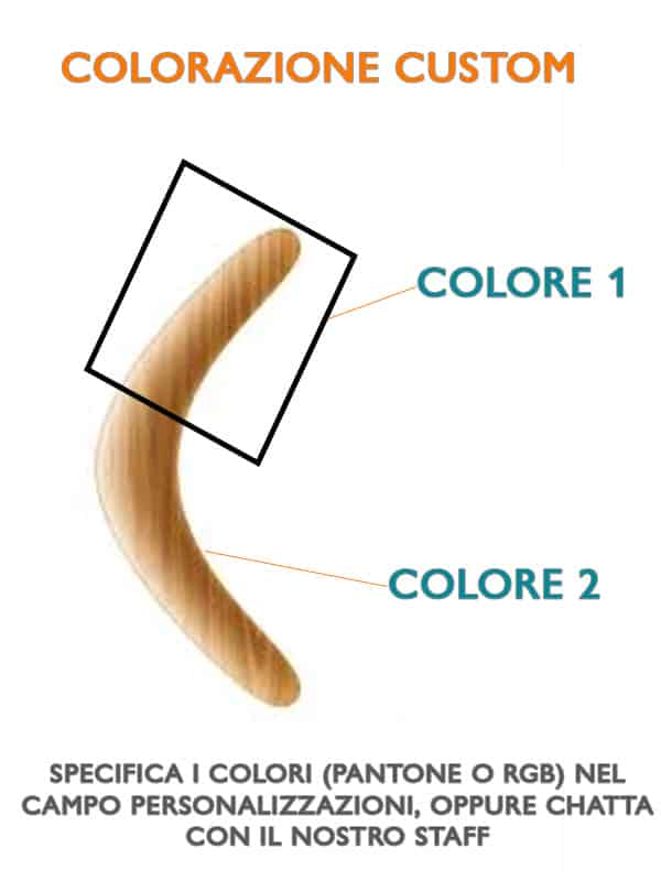 Scegli la decorazione del tuo boomerang