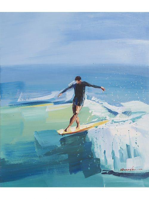 longboard step canvas original
