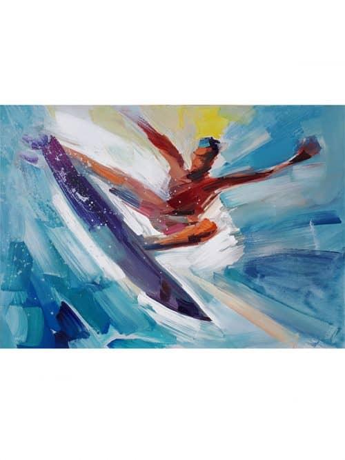 AERIAL 360 surf modern art surfart home