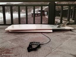 tavola da surf rotta