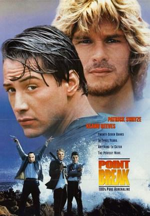 Locandina point break 1991