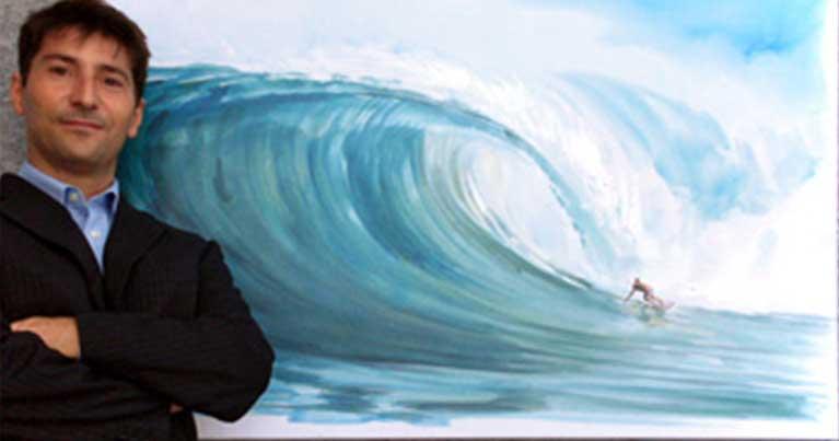 Vincenzo ganadu storia della surf art made in Italy