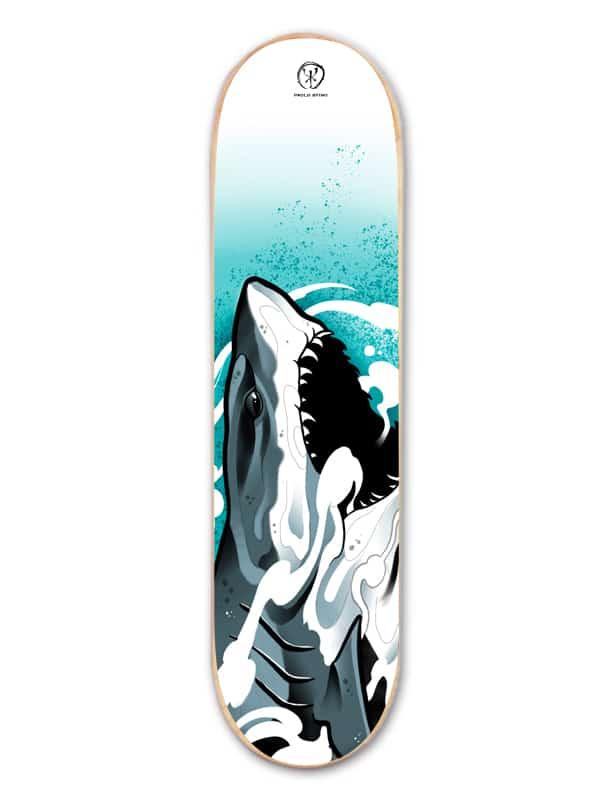 SHARK SKATE WORKART