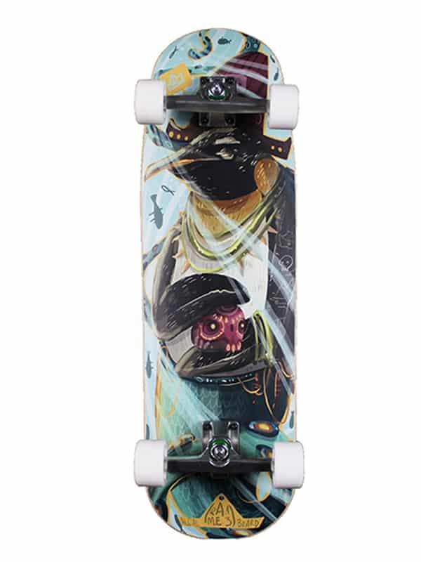 deck surfskate completo e personalizzabile