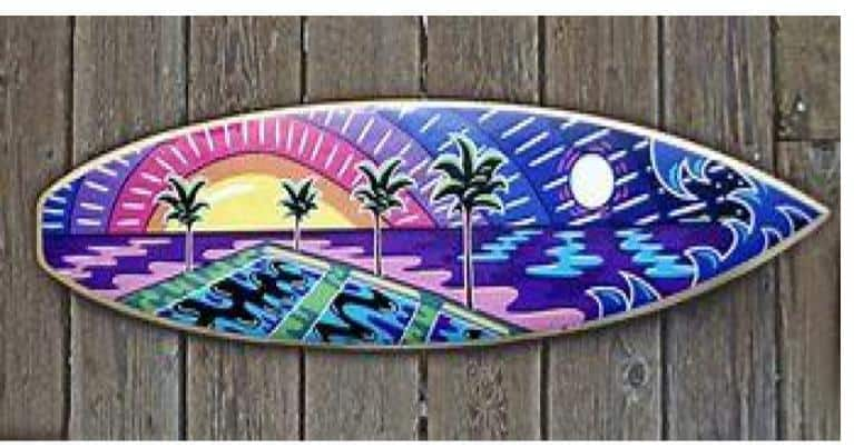 surfboards graphic